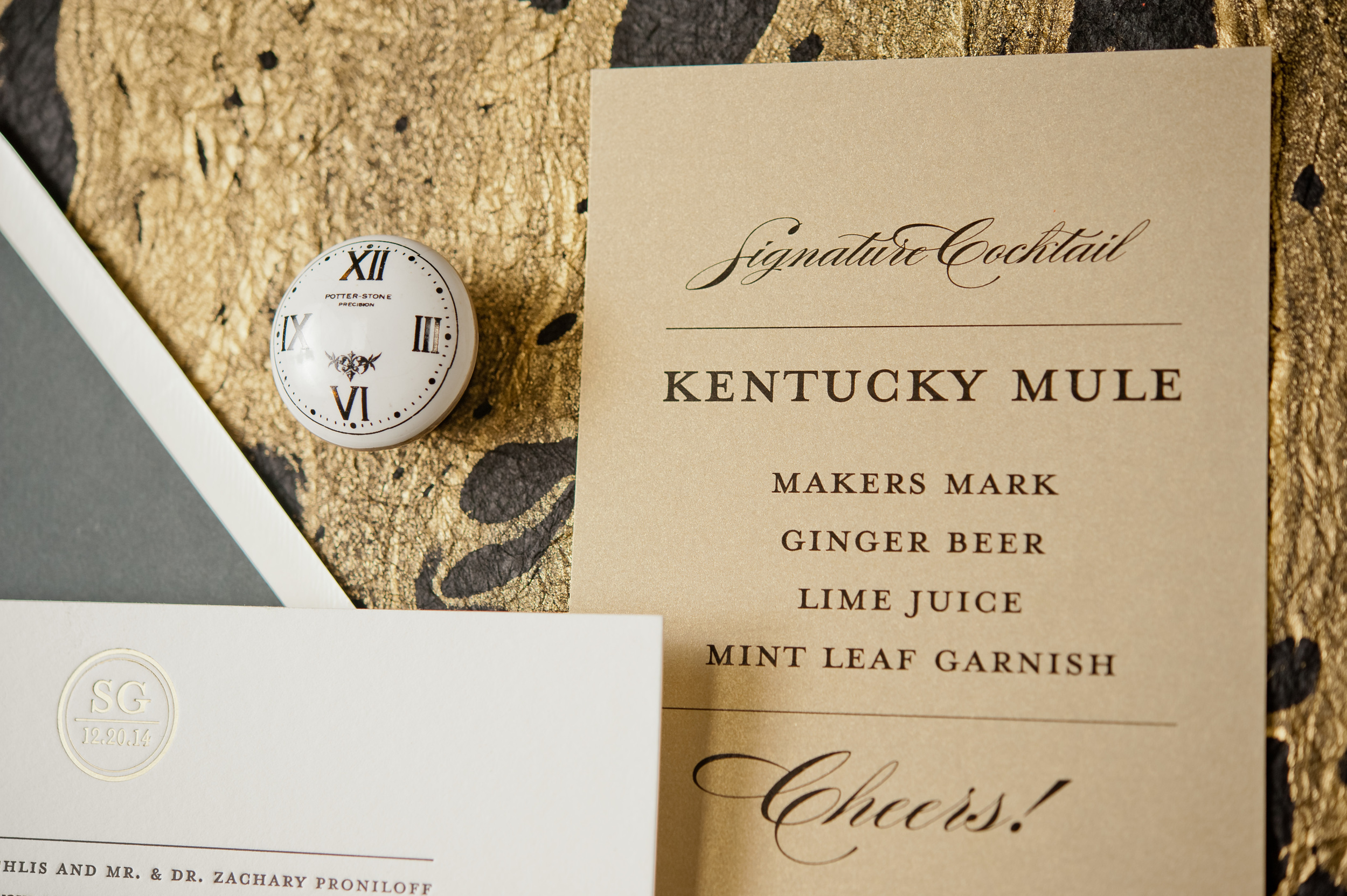 copperwillow.com | Classic and Modern Wedding Invitation Suite | Copper Willow Paper Studio | Wedding Stationery and Invites