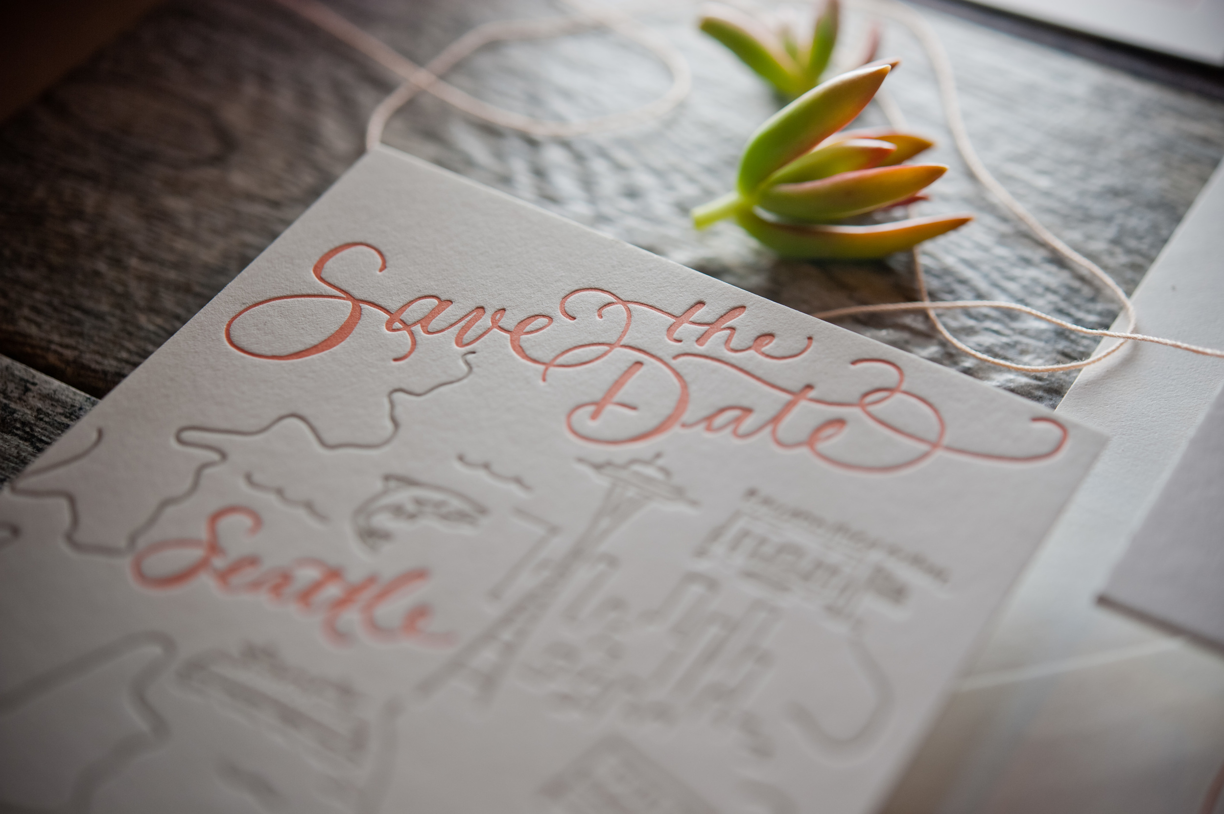 copperwillow.com   Modern Wedding Invitation Collection   Grey and Orange Wedding Stationery   Copper Willow Paper Studio