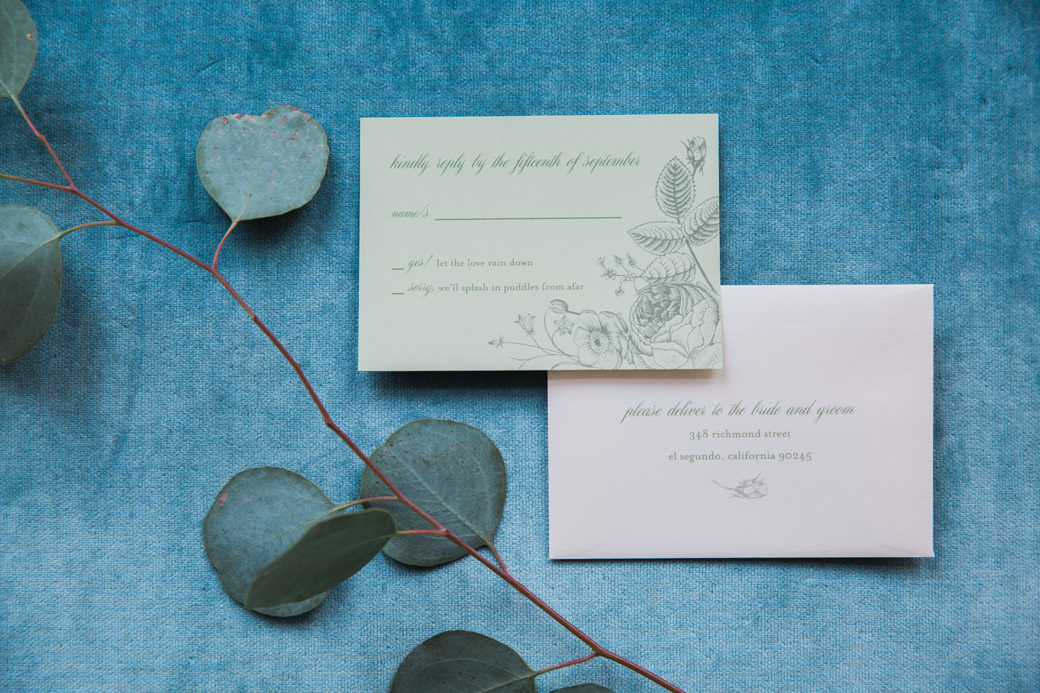 copperwillow.com | Rainy Day Wedding Ideas | Umbrella Themed Wedding Invitations | Copper Willow Paper Studio | Alante Photography