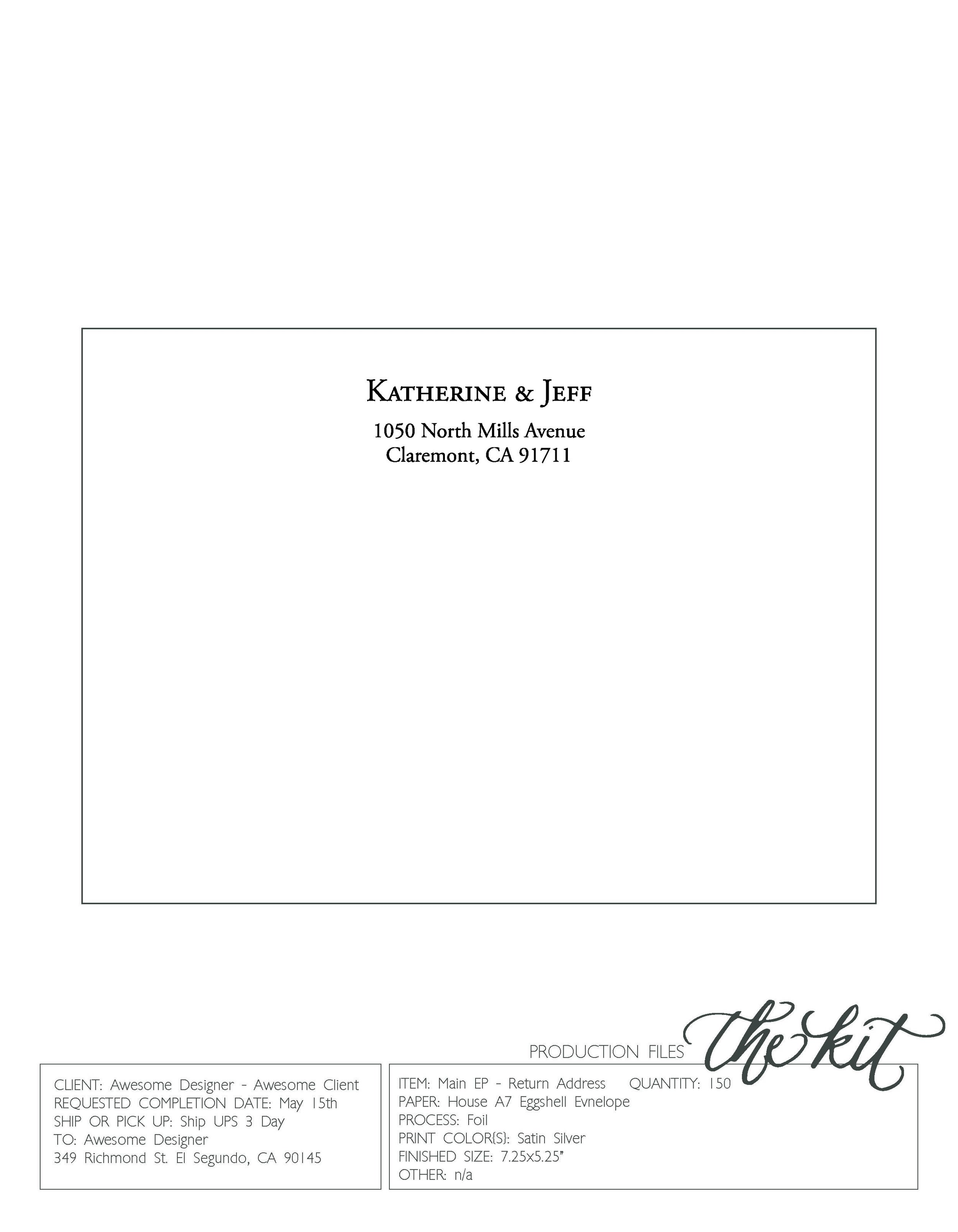 CWPS Envelope Design Template