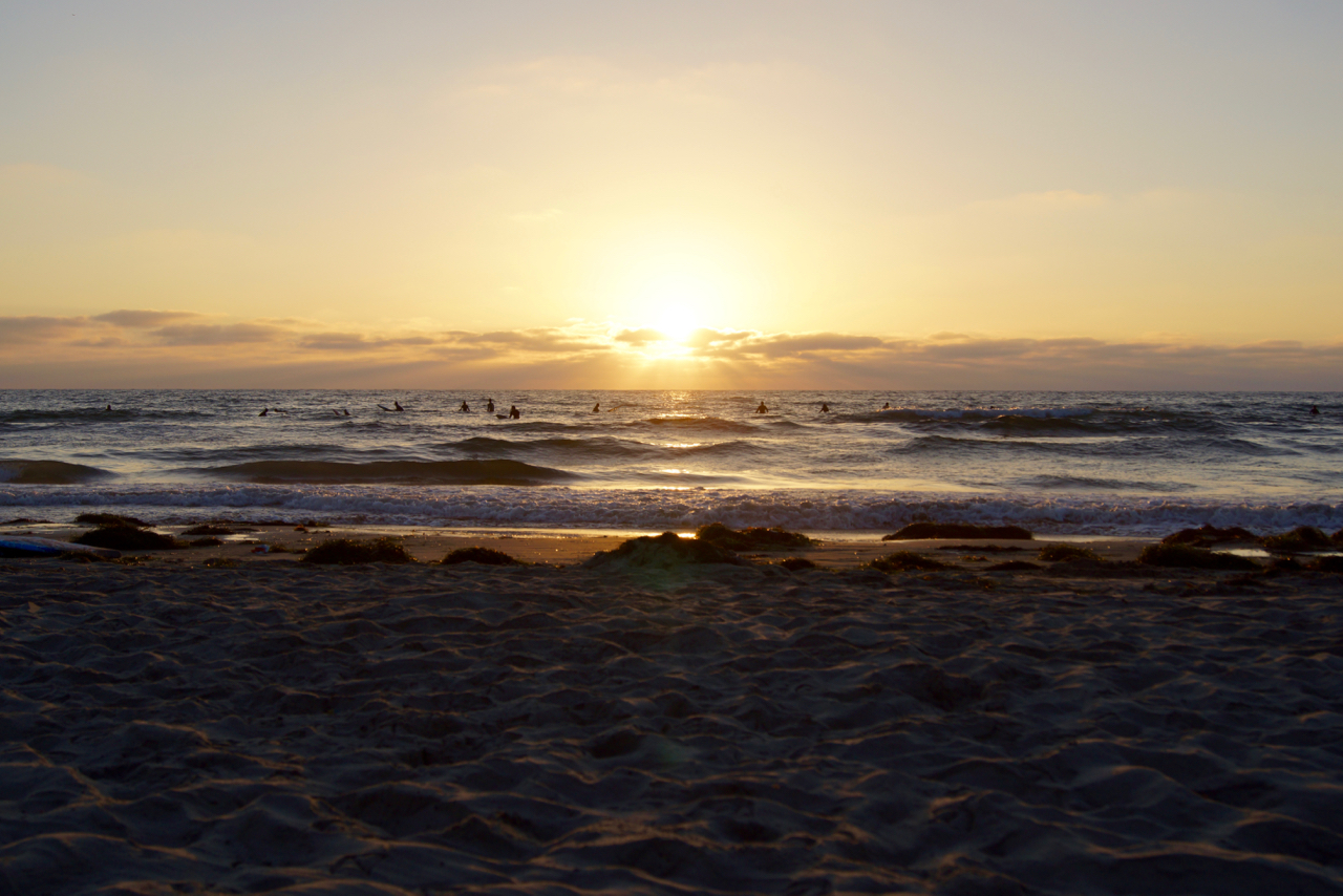 Quintessential San Diego: sand, surfers, and sun