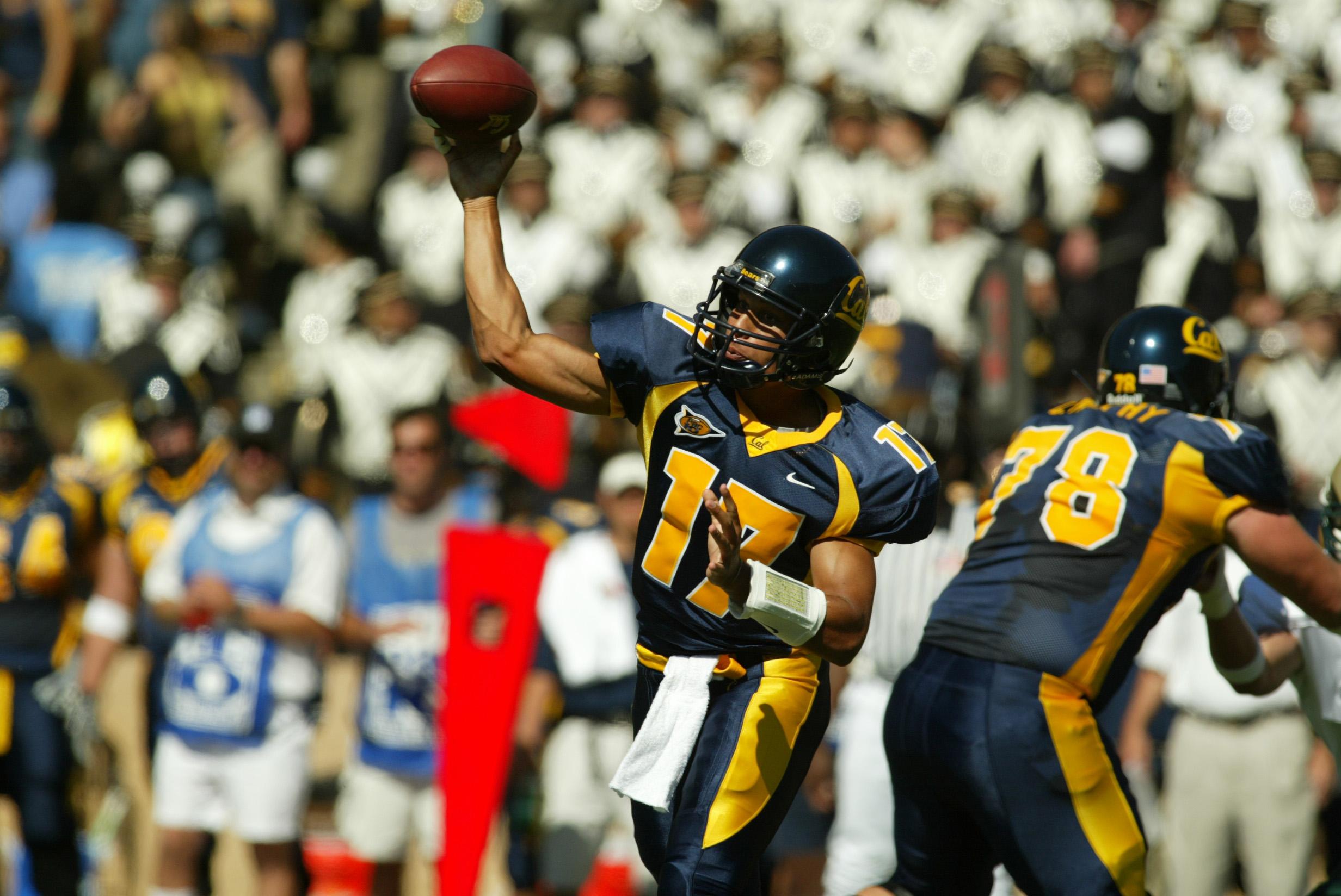 My favorite Cal quarterback playing alongside a very dear friend.