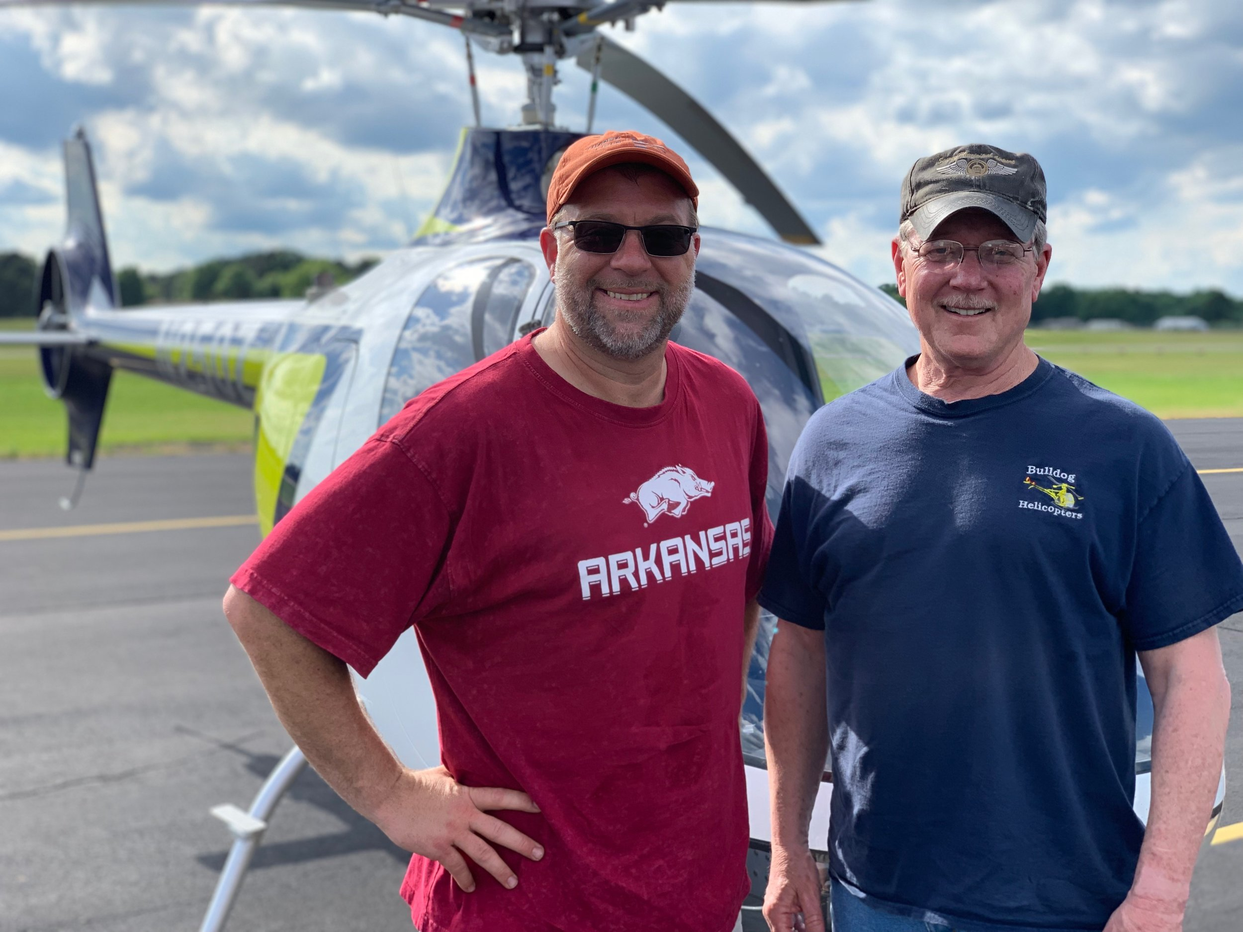 Congratulations to our first helicopter program graduate, Chris Landis! Also, congratulations to CFI Chad Cox on making another helicopter pilot!