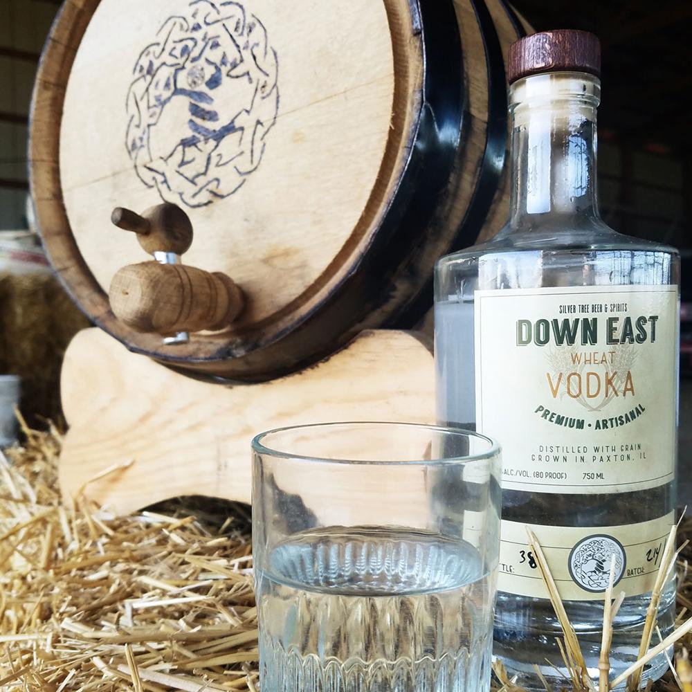 Down East Vodka - Branding & Packaging
