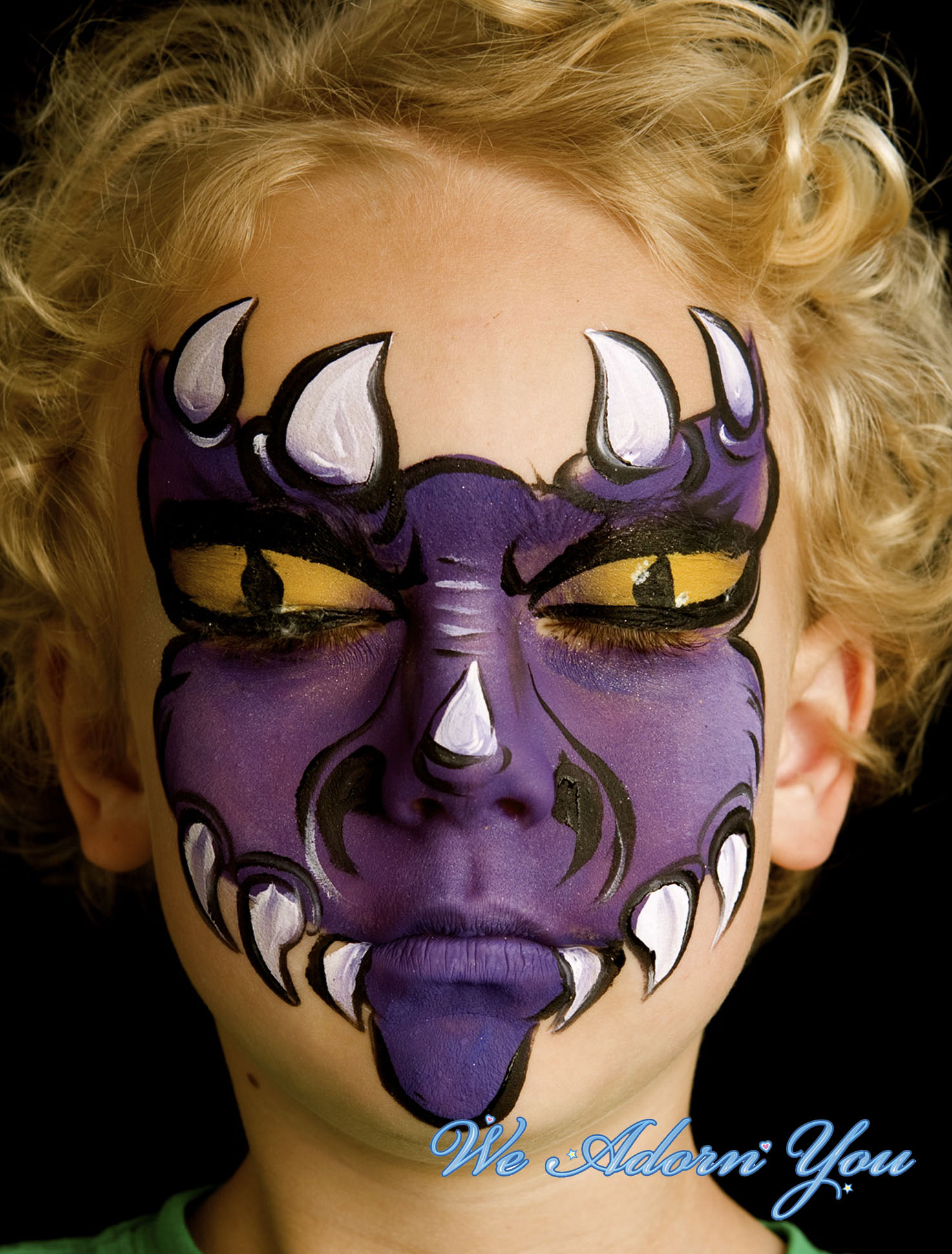 Face Painting Dragon - We Adorn You.jpg