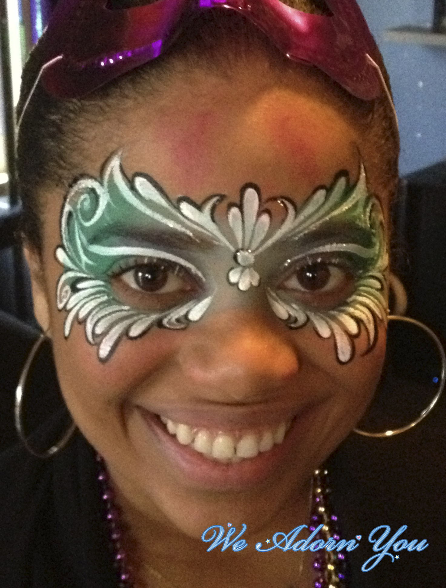 Face Painting Mardi Gras Mask- We Adorn You.jpg