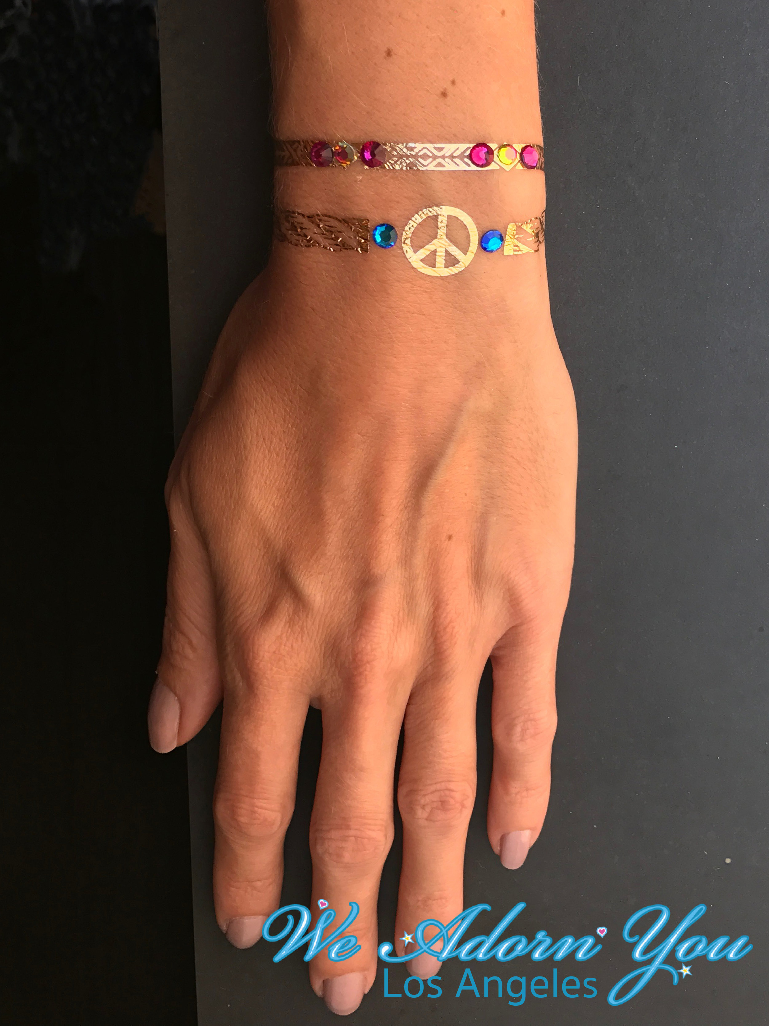 We Adorn You Los Angeles Metallic Tattoos Gems.jpg