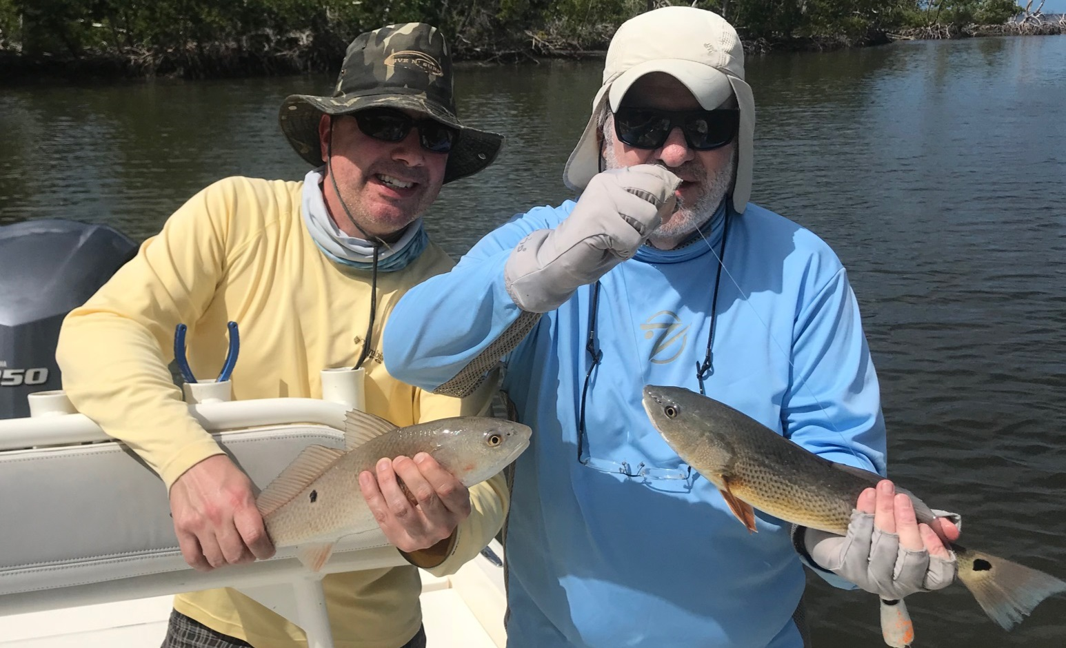 Jack and Keith Hubacher of the Beach Boys. The had somewhere around 80 Snook and Redfish combined!