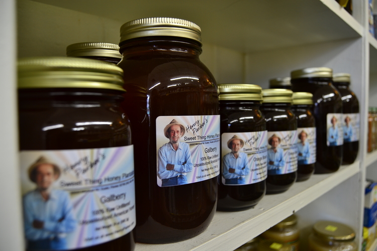 Henry Parker's Honey - We are one of three locations in the Lake County area that sells Henry Parker's locally farmed honey!