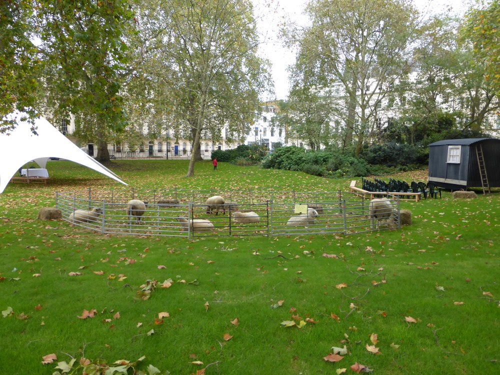 Events and BBQ's in London squares