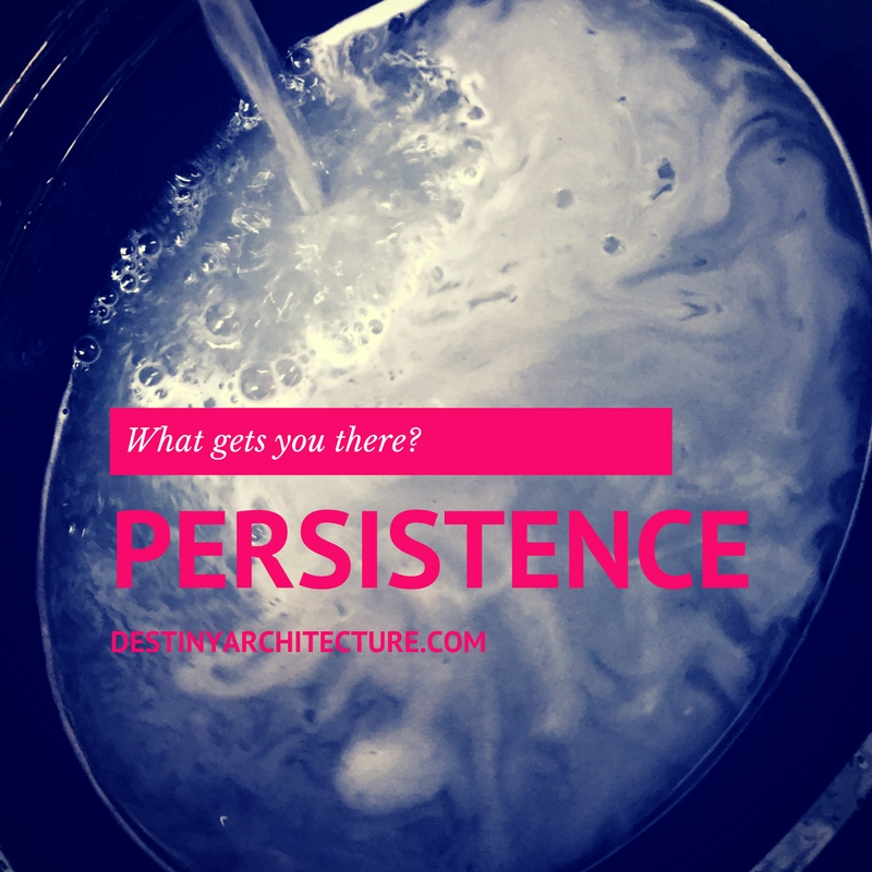 A strong WHY helps you be PERSISTENT; Your PERSISTENCE helps you reach your goal.