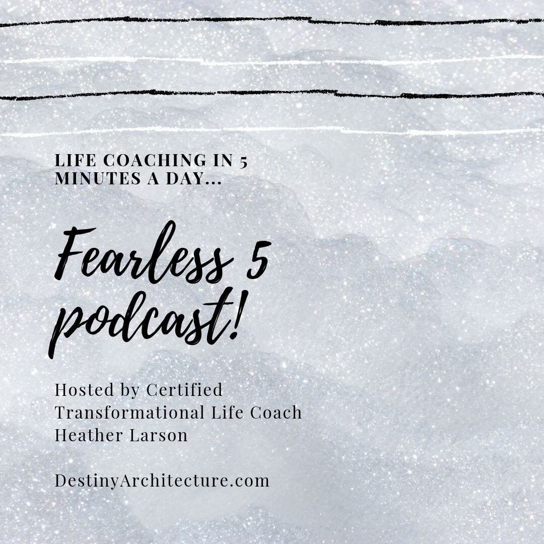 Pod-casts #41-45 - This week: Taking risks, life gets messy, permission and everyone's favorite — Mercury Retrograde!