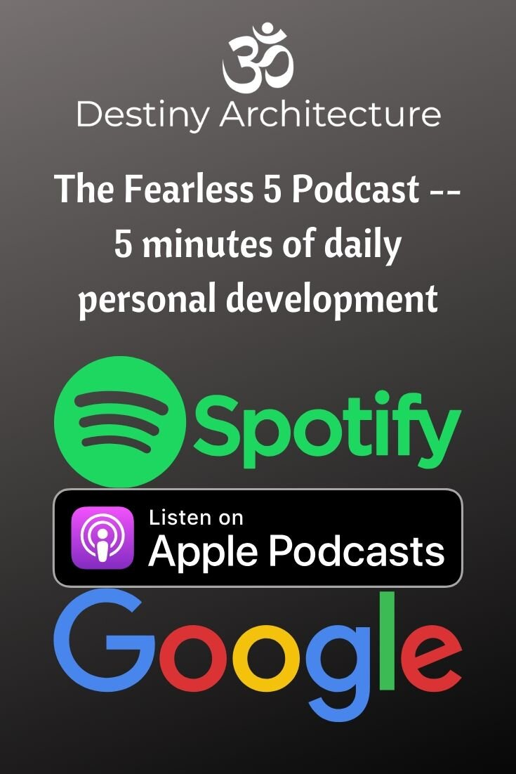 We made it to 50! - 50 Fearless 5 Podcasts now on:Spotify, Apple, Google, PocketCasts, Breaker, Anchor, & RadioPublic.