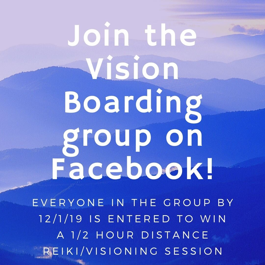 Getting ready - for 2020 by vision boarding & calling it ALL in!