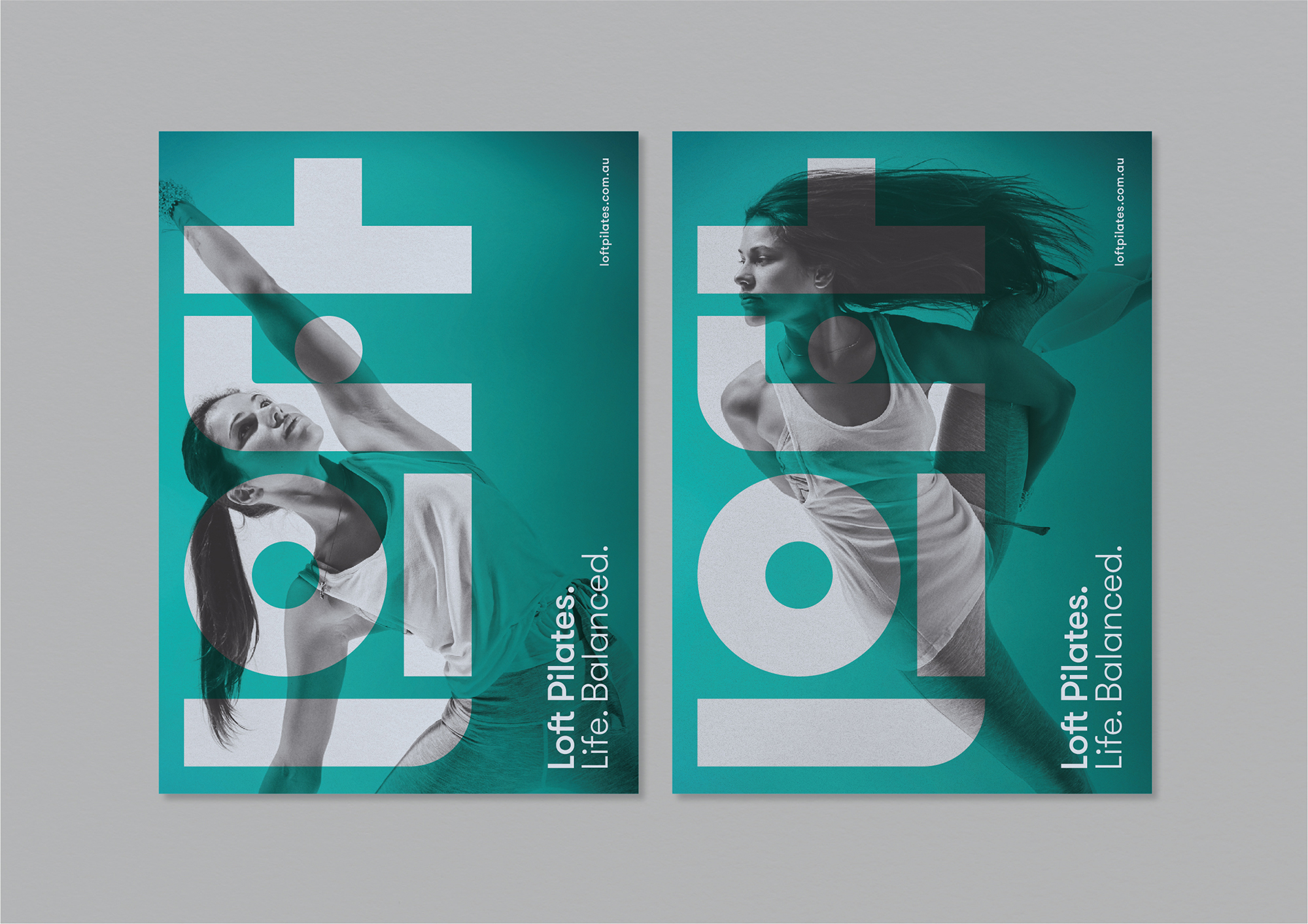 Loft Pilates –  Positioning and full-brand identity for this ambitious Australian Pilates Studio