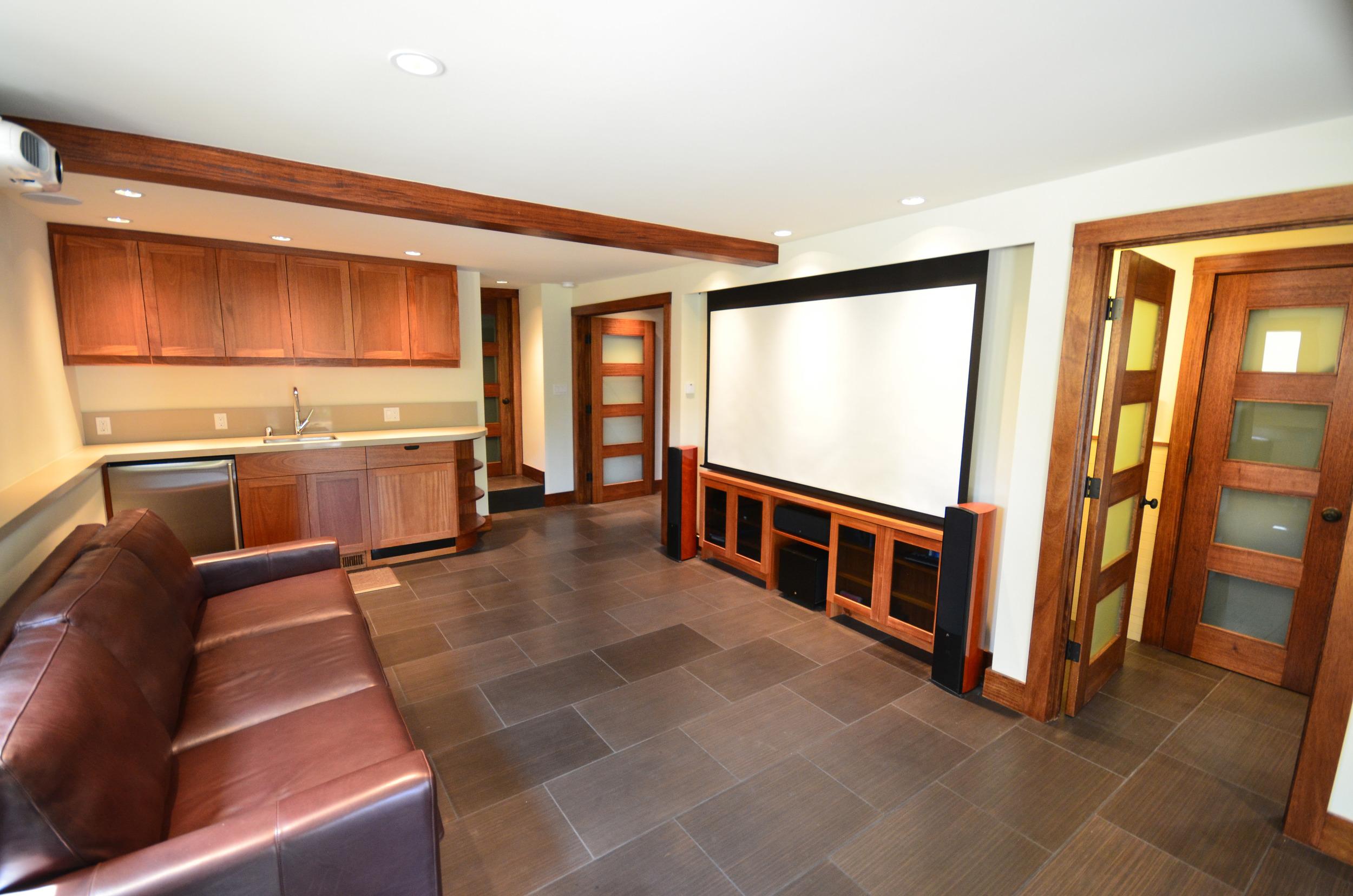 traditional face frame mahogany cabinets
