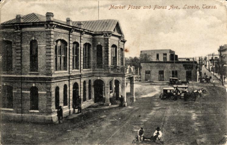Laredo, Texas, ca. 1907. Image source:  Wikimedia Commons