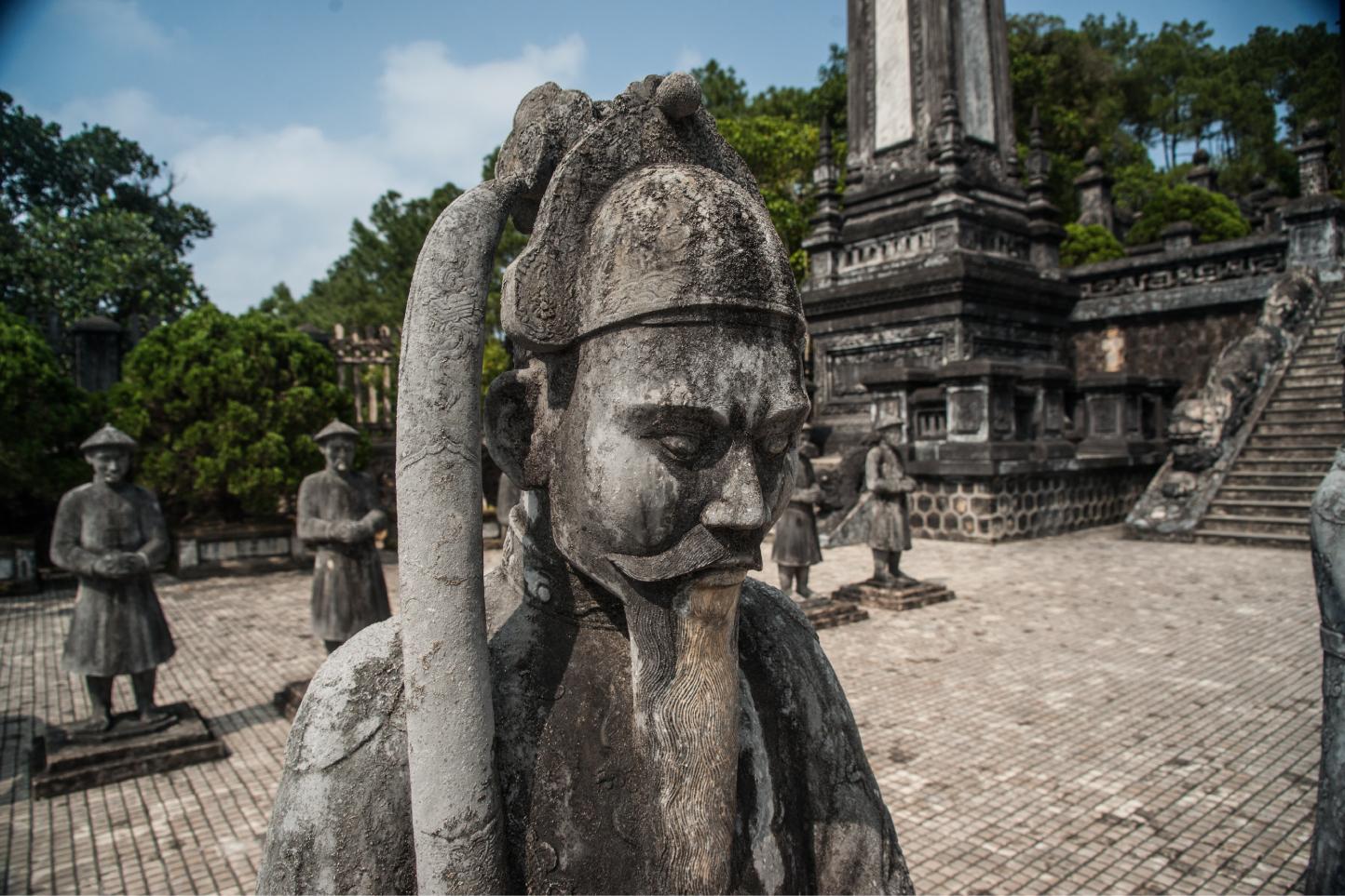 Tomb of Khai Dinh emperor...