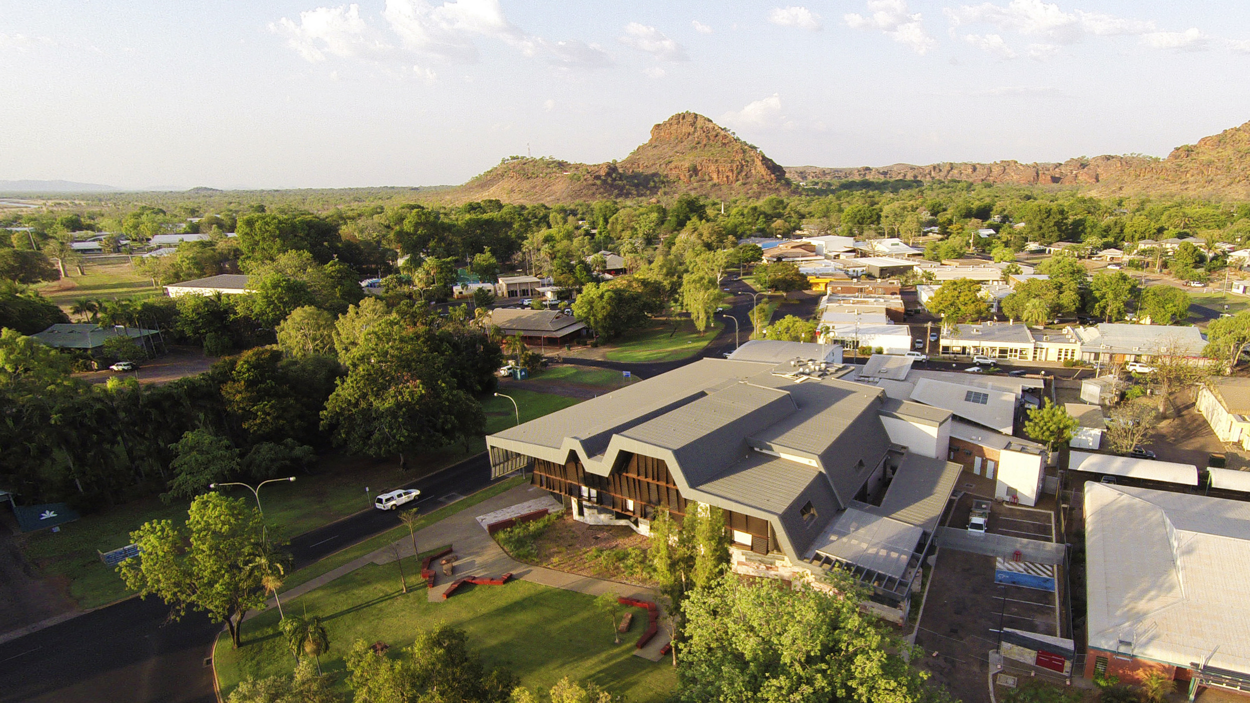 Kununurra Courthouse by TAG Architects and iredale pedersen hook architects