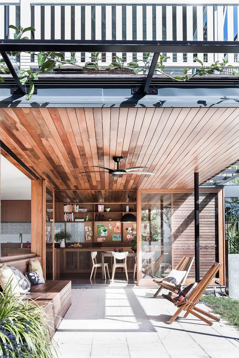 Kieron Gait Upside Down House