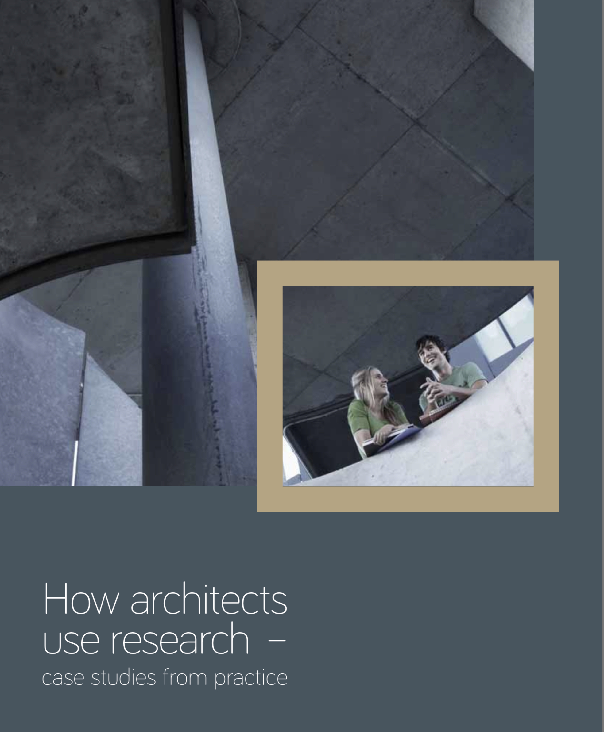 How architects use research - RIBA