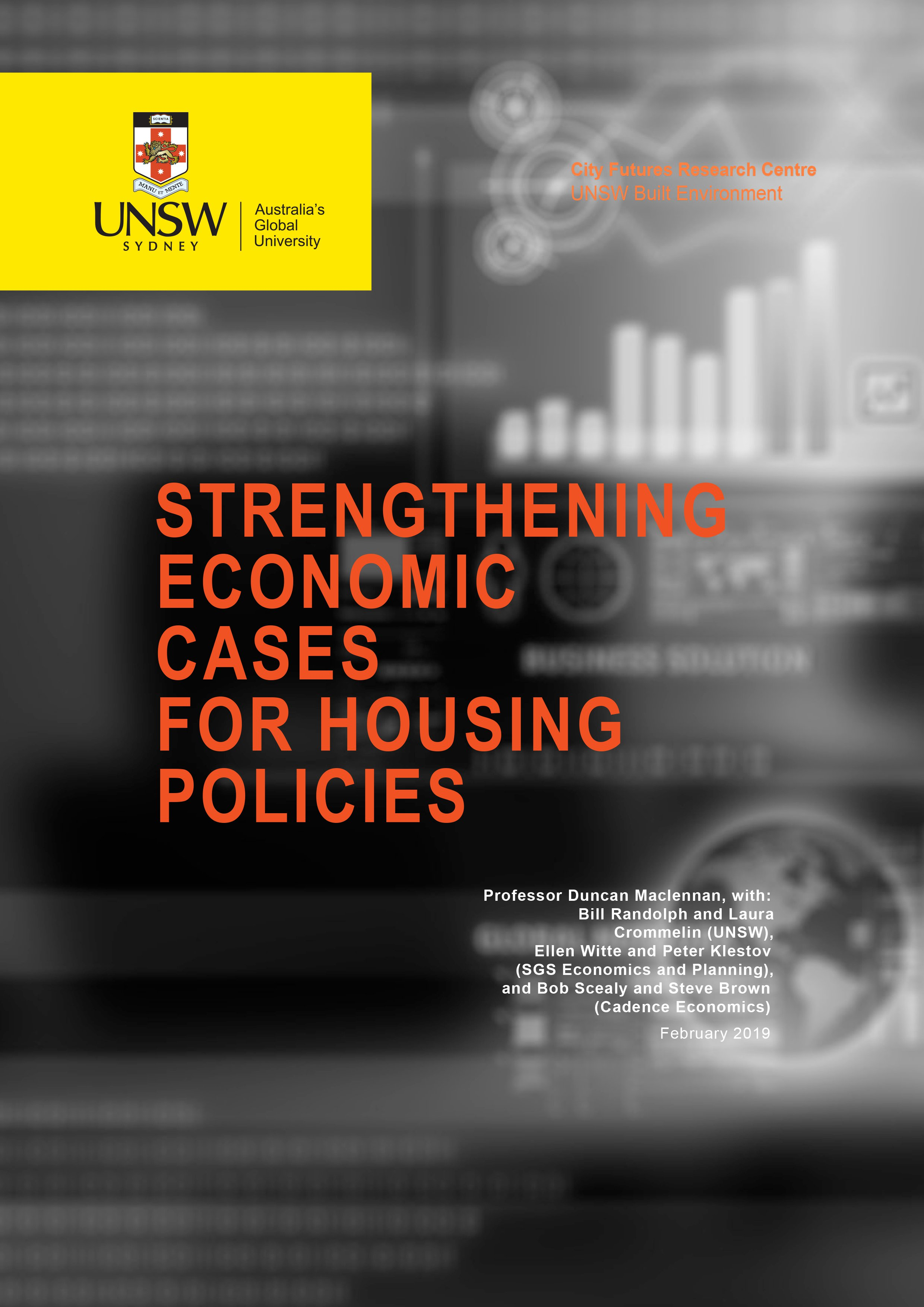 Strengthening Economic Cases for Housing, Feb 2019