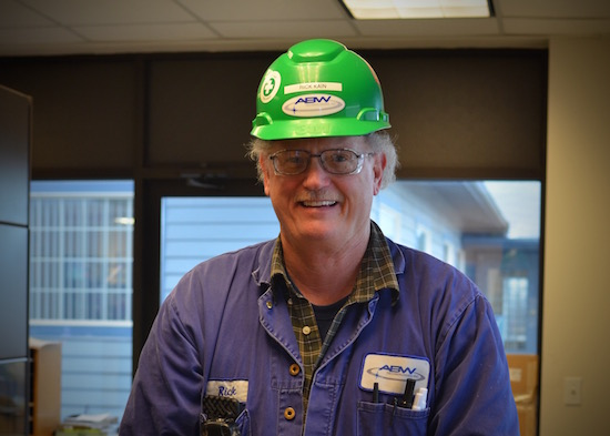 Rick Kain<br>Quality Receiving Inspector