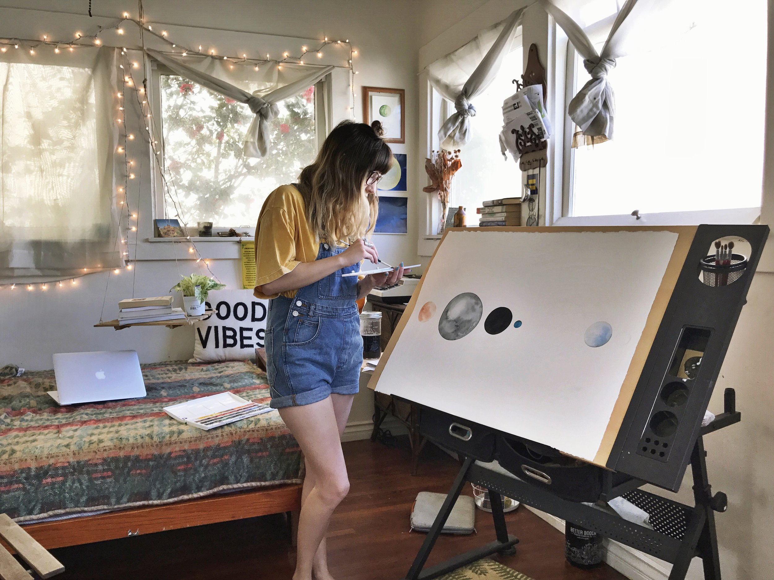 Watercolor classes for all skill levels -