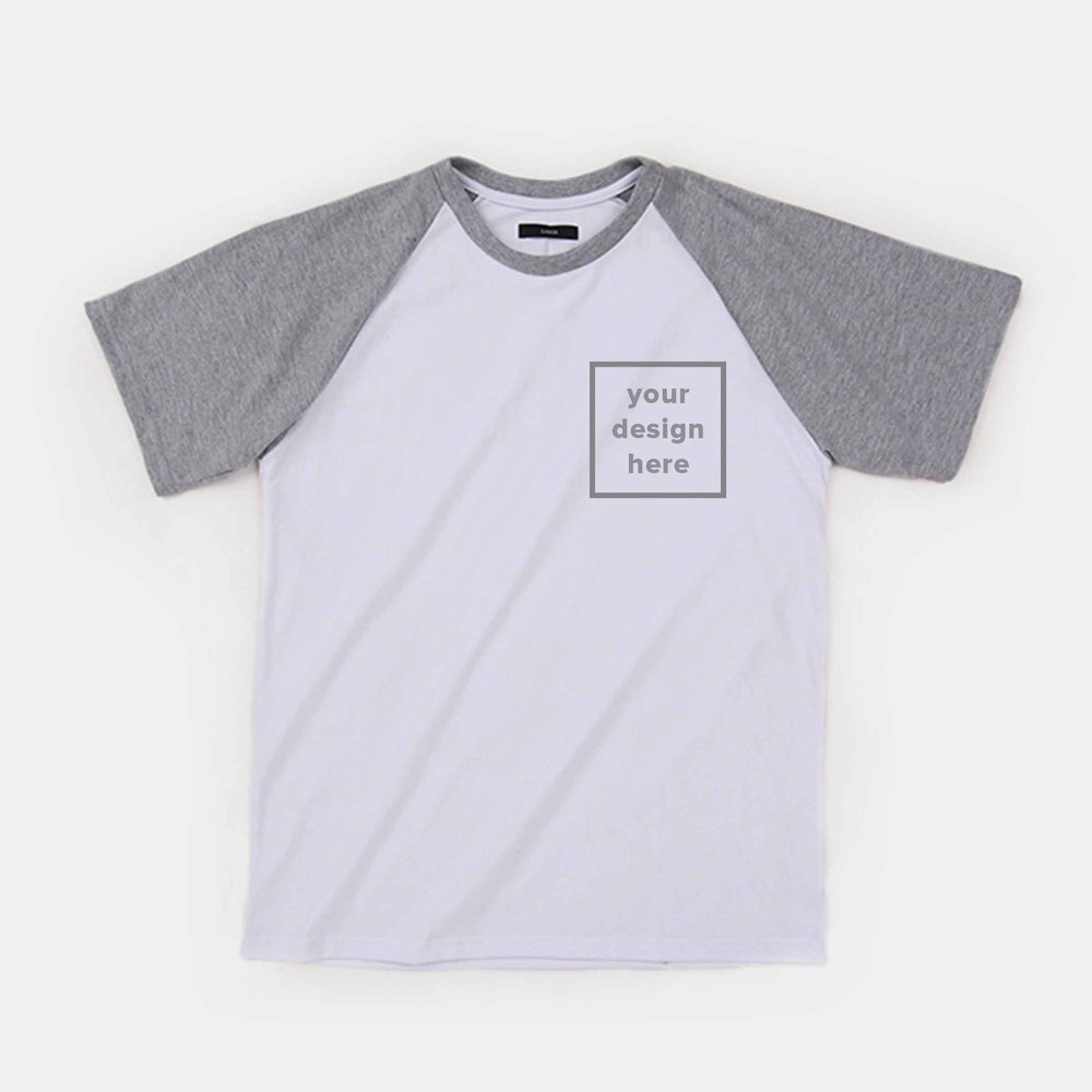 Tailored Projects- Custom T-Shirt- Short Sleeve Raglan - Straightforward- 3.jpg
