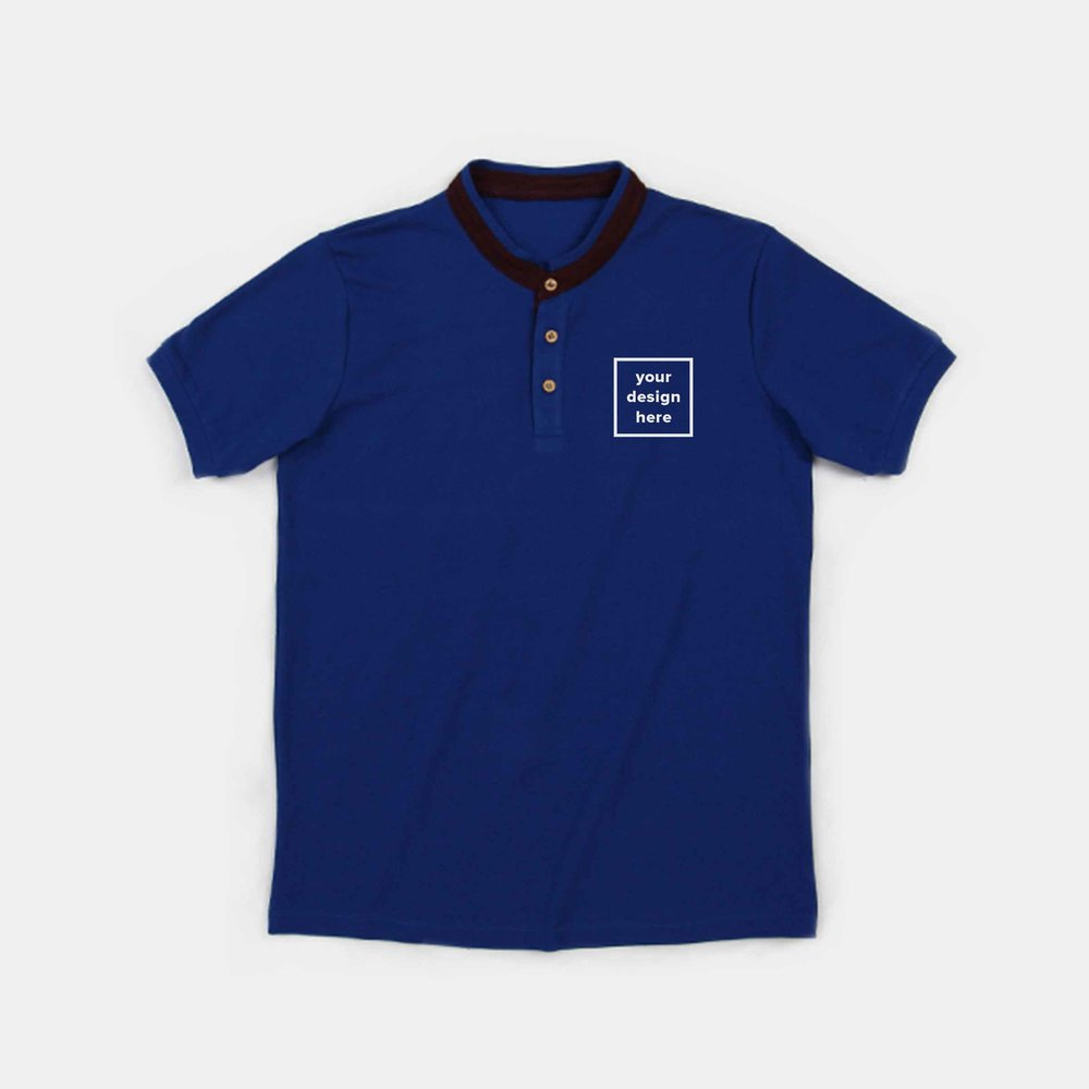 Tailored Projects - Mandarin Polo Shirt- Short Sleeve - Straightforward - 1.jpg