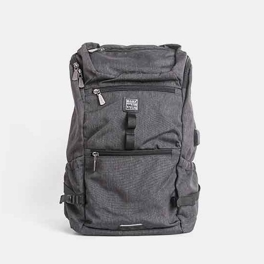 CUSTOM RUCKSACK III   Material used: Antitheft Nylon  Custom Application: NONE