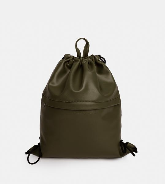 Tailored Projects-Custom Bag-Leather Drawstring-Green.jpg