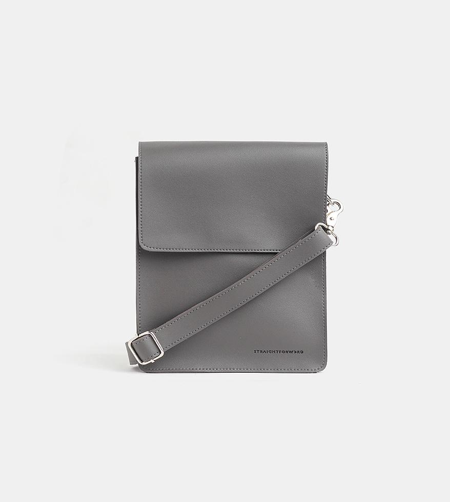 Tailored Projects-Custom Bag-Leather Sling Bag-Gray.jpg