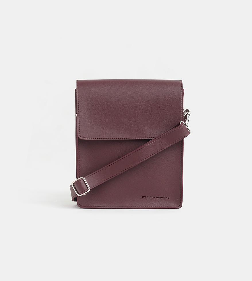 Tailored Projects-Custom Bag-Leather Sling Bag-Wine.jpg