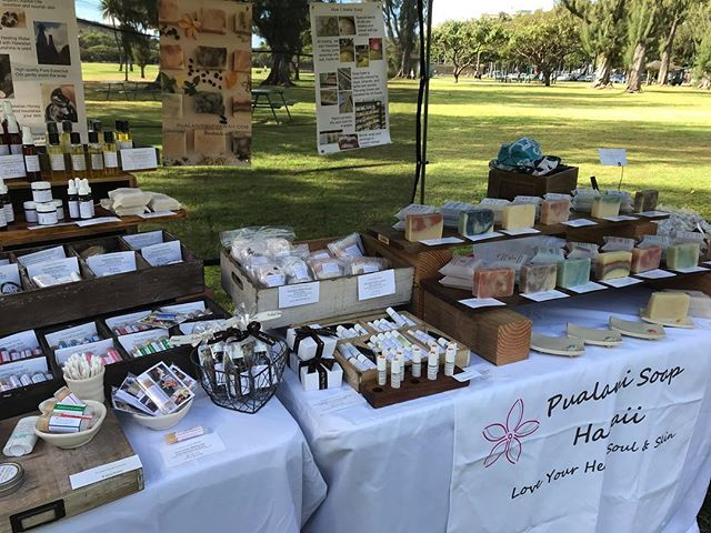 Aloha🌈 I am at Lei Day Celebration at Kapiolani Park today till 5:30😃. Nice place to enjoy Hawaiian Music, Dance, Lei and Haku Lei Making, Handcrafted items. #soap #madeinhawaii #handmadesoap #naturalskincare #leiday #waikiki #madewithaloha #hawaiian #aloha #pualanisoap