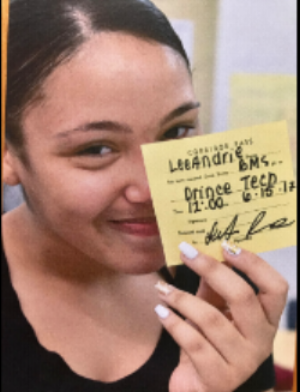 "A Breakthrough Magnet student on the morning of her graduation wrote herself a pass and smiling, handed it to her teacher, Mr. Field, saying ""this is the last pass you will need to write for me."""