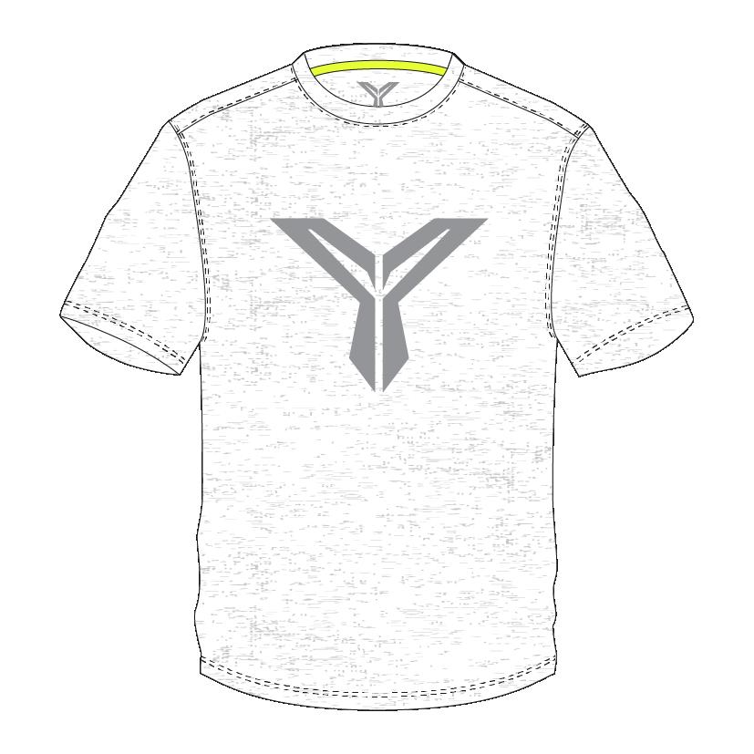 白色T恤 (正面)