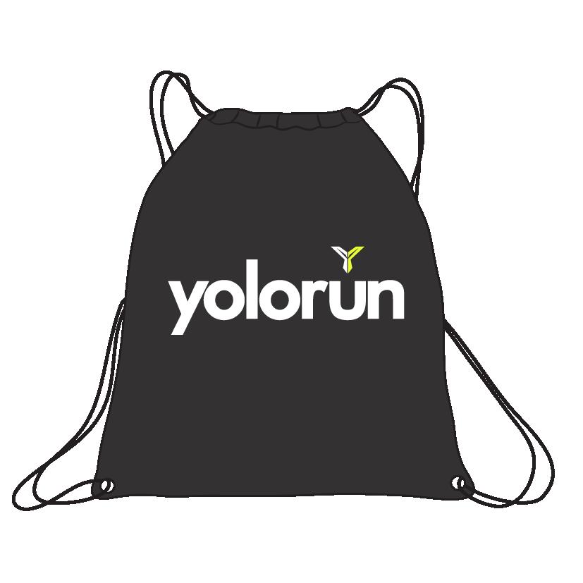 YOLO Run 繩索袋 (背面)