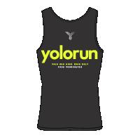 YOLO Run Singlet (Back)