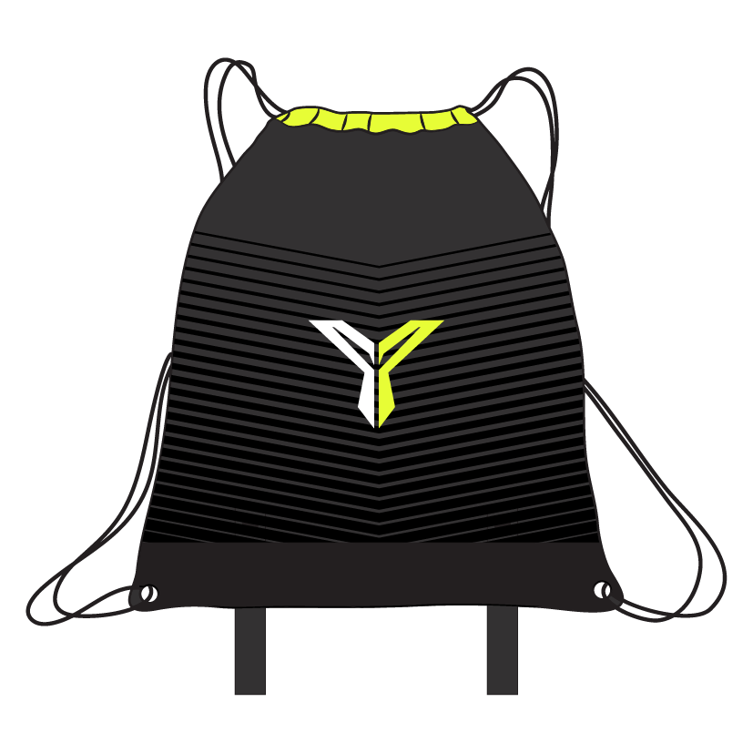 Drawstring Fitness Bag (Back)