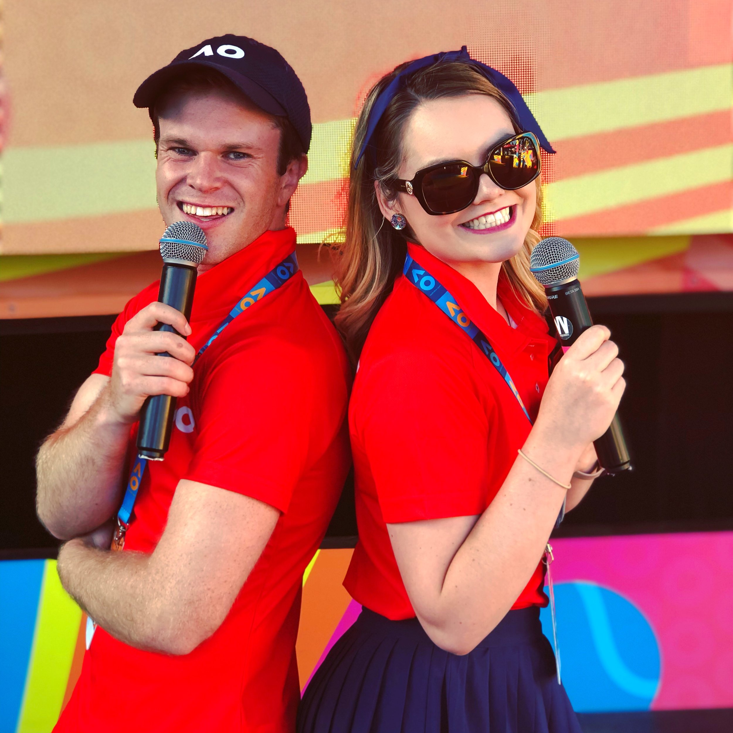 MC, The Australian Open, kids Ballpark 2019