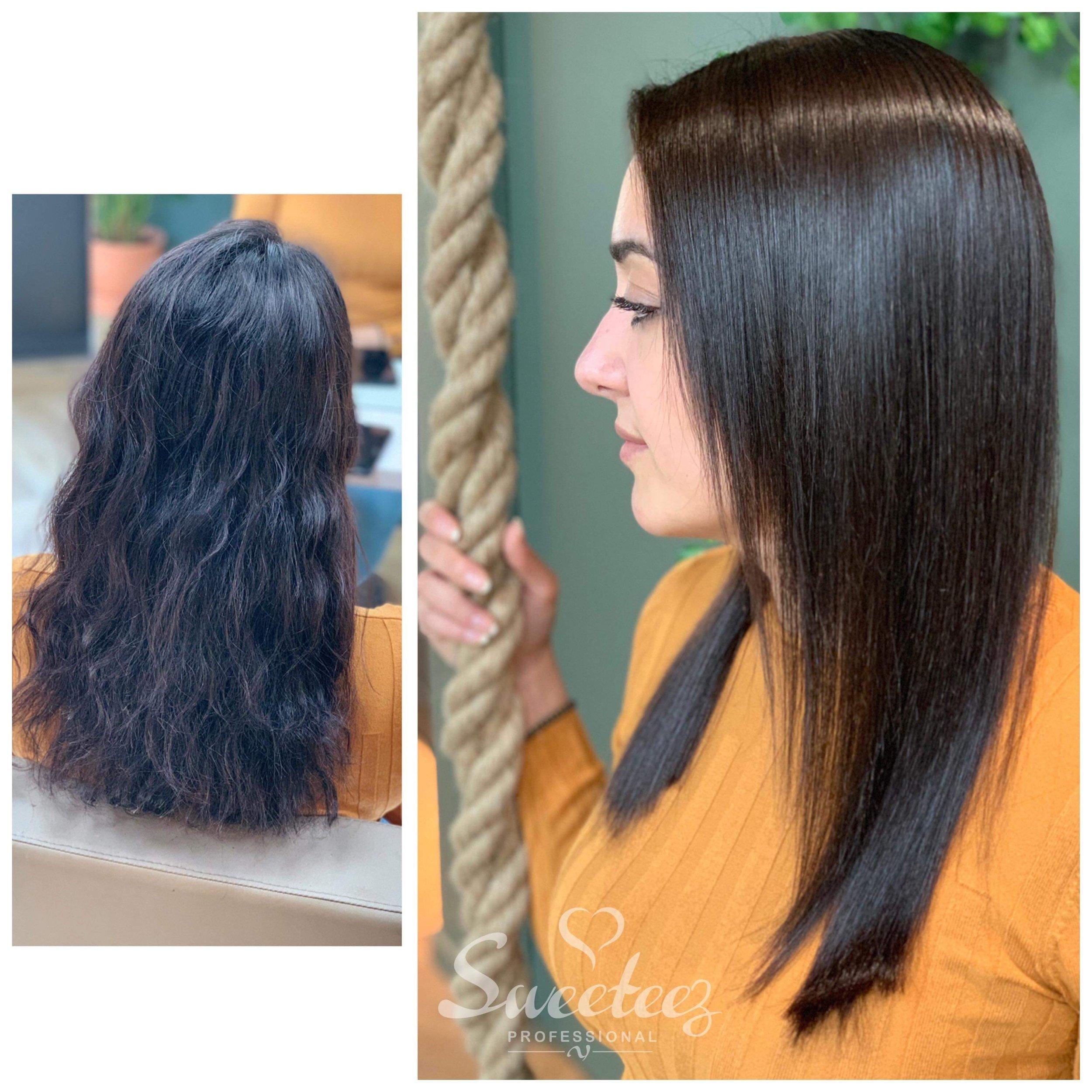 fett hår behandling
