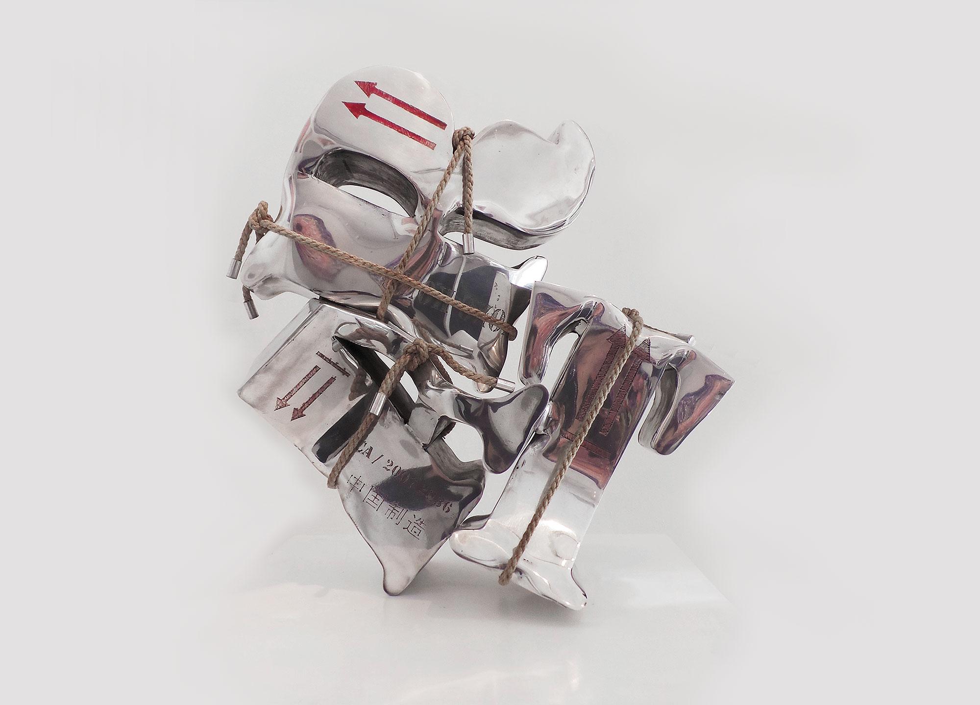 Bubble Art  (2009) | aluminium, chanvre | 50 x 40 x 20 cm | 1/1