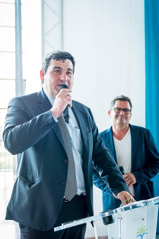 Inauguration et discours de Monsieur Dominique Thillaud, Président Directeur Général des aéroports de la Côte d'Azur.