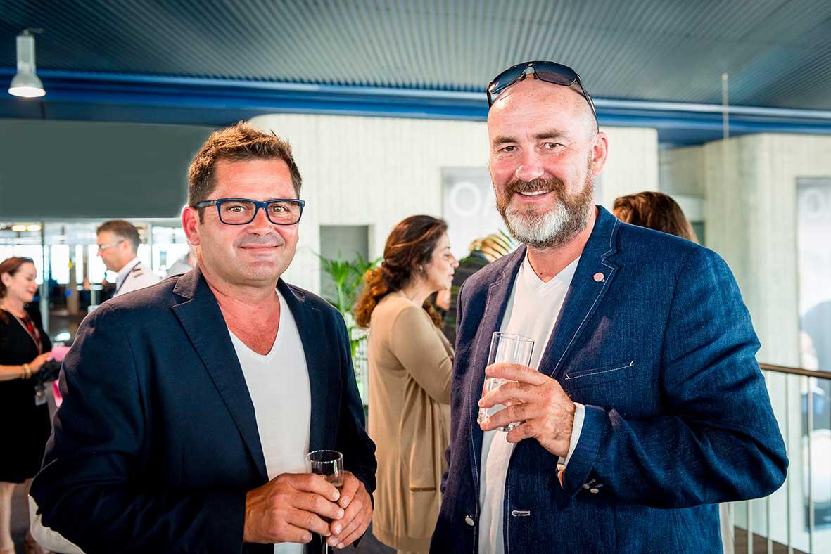 Stéphane Cipre et Philippe Biscroma