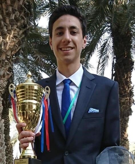John El Khoury - Co-Chair - John Elkhoury is a Senior at Al Mawakeb School – Al Barsha, he has been in MUN for 4 years, and has always improved during his years in it, MUN isn't just a competition, it's a way of socializing and communicating with others in a way that improves one's abilities in talking and speaking in public. John is really excited to chair, for he loves to meet new people, he also hopes to see some fine debates in his committee, and to see people showing professionalism and maturity during the entire conference.-johnkhoury28@hotmail.com