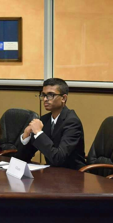 Samuel Tharakan - Co-Chair - A senior in the Indian High School, Samuel finds MUN to be a creative outlet for himself, with a particular inclination to committees emphasizing on crises, military strategy and political underhandedness. He has a long record of MUN experiences both as a delegate and a chair, with his most memorable being overthrowing Kim Jong-Un as the Supreme Leader of DPRK. He hopes to have a great experience with his fellow chairs and delegates at SPECPOL this year!-tharakansamuel@gmail.com