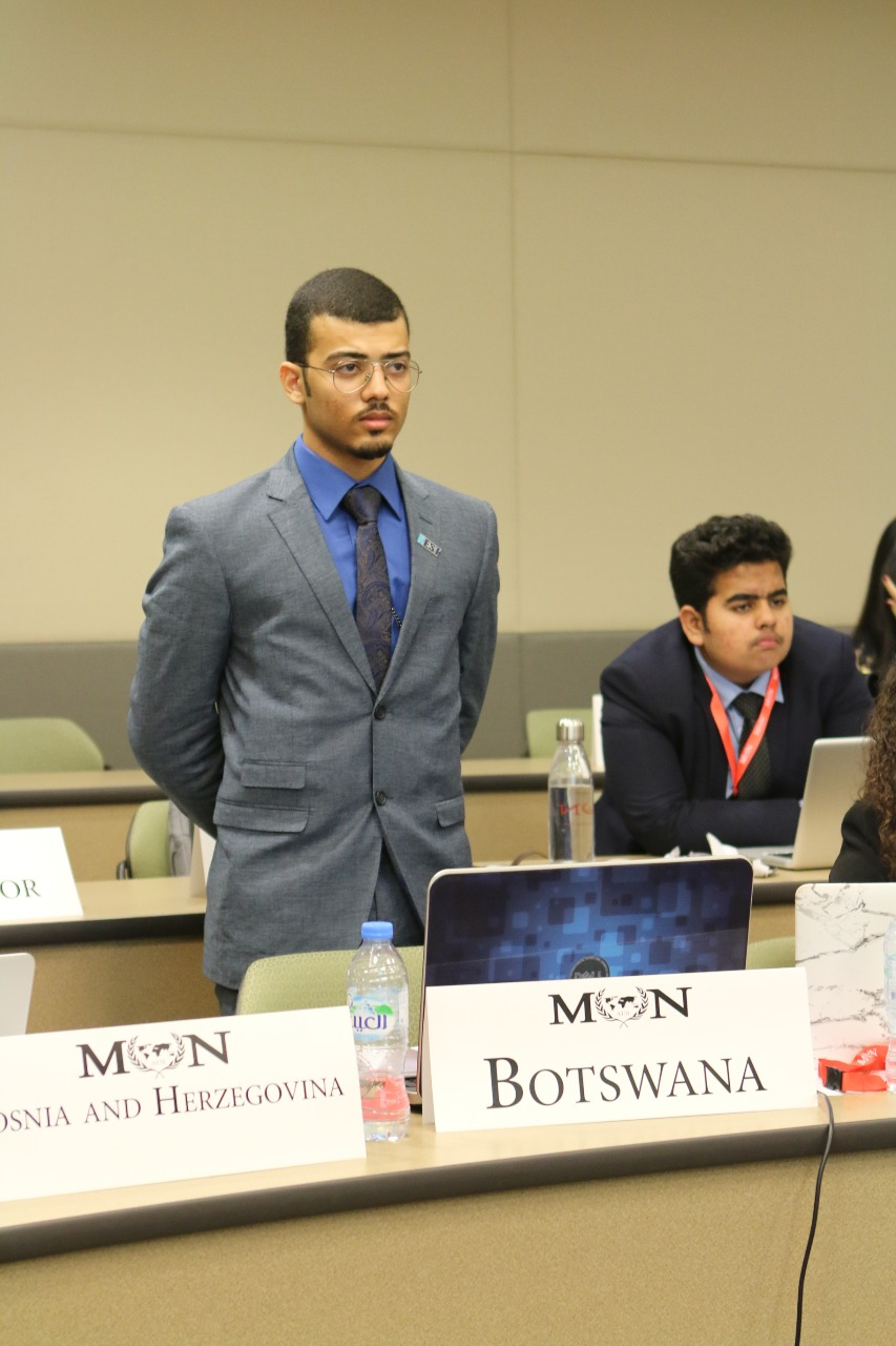 Omar Khalifa - Co-Chair - Omar Khalifa is studying Chemical Engineering in Khalifa University. MUN events have always been benchmarks in his calendar. 3-day event makes his year! Delegating a country, discussing hot topics and drafting resolutions are very exciting experiences. As chairs of the Environmental Assembly, we will guide you through the conference and try to be as helpful as possible to make this an unforgettable experience, in a good way!-omarkhalifa@live.com