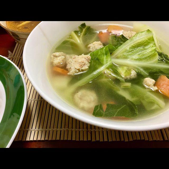 Halal meatball soup in da house.  #rpmakanan #selamatbukapuasa