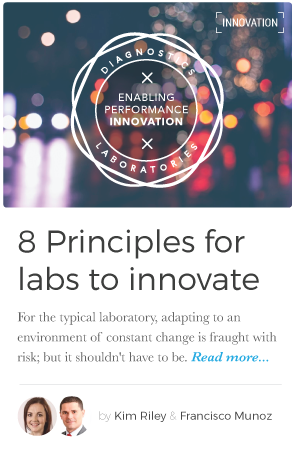 For the typical laboratory, adapting to an environment of constant change is fraught with risk; but it shouldn't have to be, say diagnostics experts  Francisco Munoz ,  B.Sc. Hon, MBA , and  Kim Riley , B.Eng., M.SC.Eng .  Here are the    Eight Principles  every laboratory should practice.